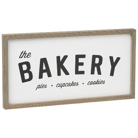 The Bakery Sign