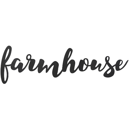 Farmhouse Metal Cutout