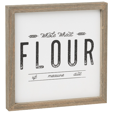 Flour Box Sign