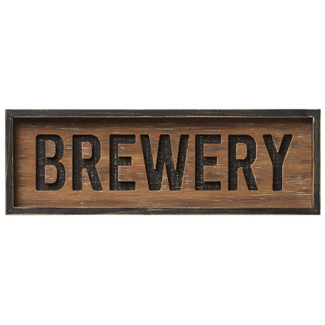Brewery Router Sign