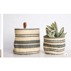 Jute Wall Baskets - Set of 2