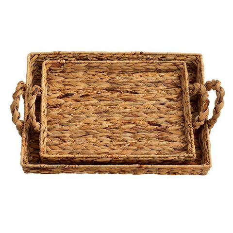Coffee Table Basket Trays - Set of 2