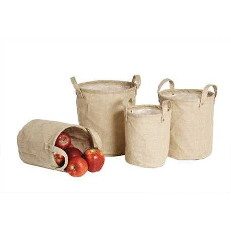 Burlap Bags - Set of 4