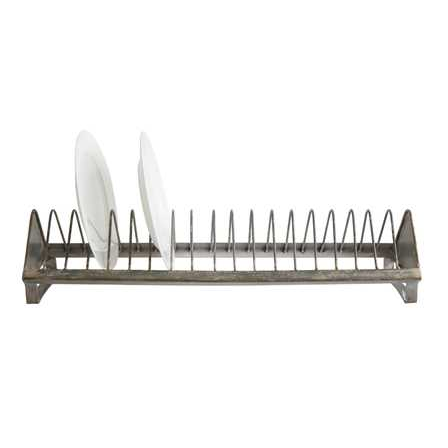 Chicken Feeder Plate Rack