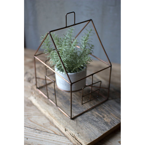 Copper House Terrarium