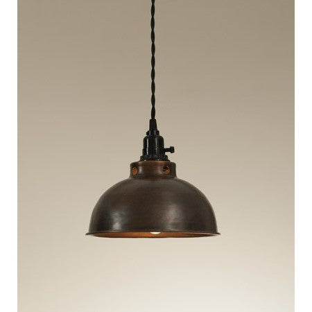 Vintage Dome Pendant Light