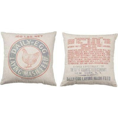 Feed Sack Pillow