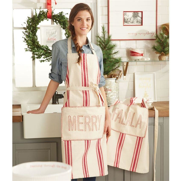 Farmhouse Christmas Apron