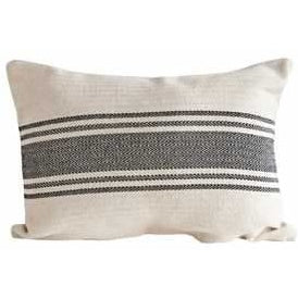 Grain Sack Stripe Lumbar Pillow