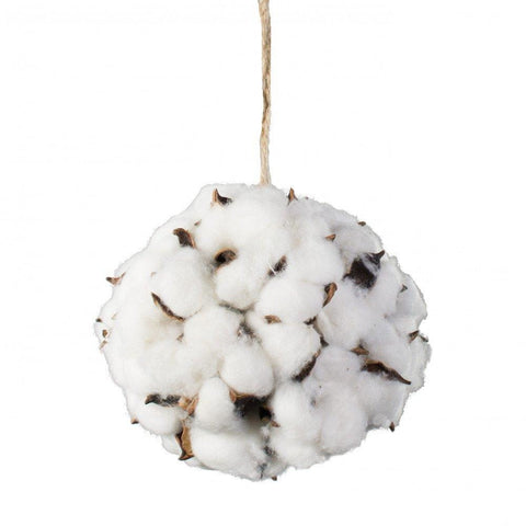 Cotton Bolls - Set of 3