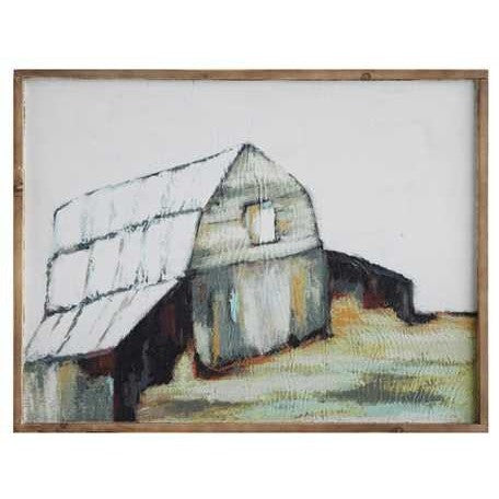 Framed Barn Canvas