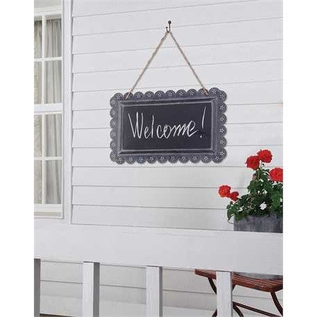 Scalloped Chalkboard