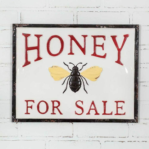 Metal Honey Sign