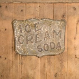 Ice Cream Soda Sign