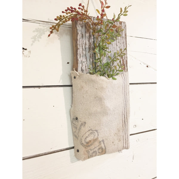 Barnwood Wall Pocket