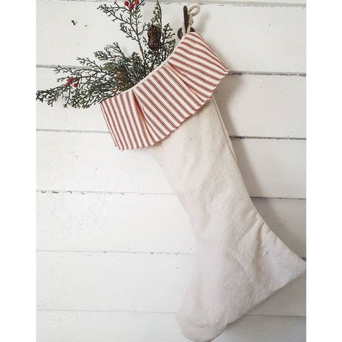 Farmhouse Stockings - Set of 2