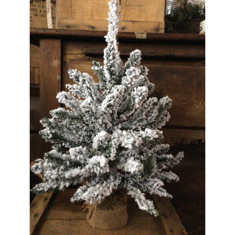 "24"" Flocked Tree"