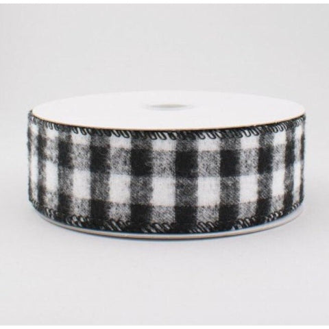 Flannel Buffalo Check Ribbon