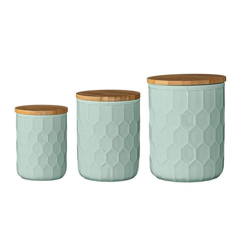 Mint Jars with Bamboo Lid