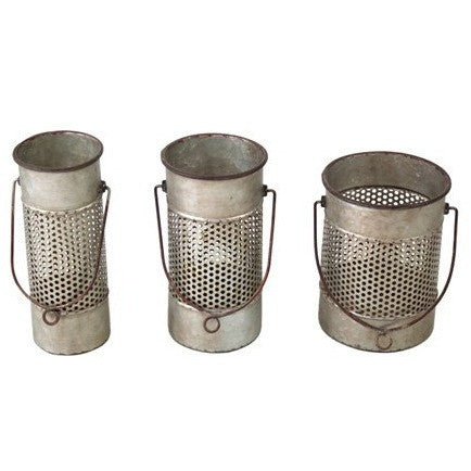 Metal Canisters S/3