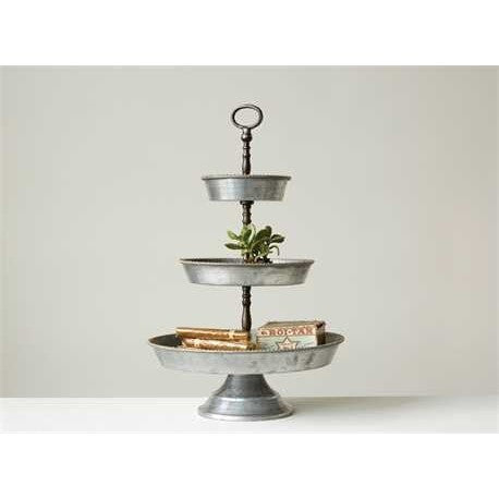 Three Tiered Tray