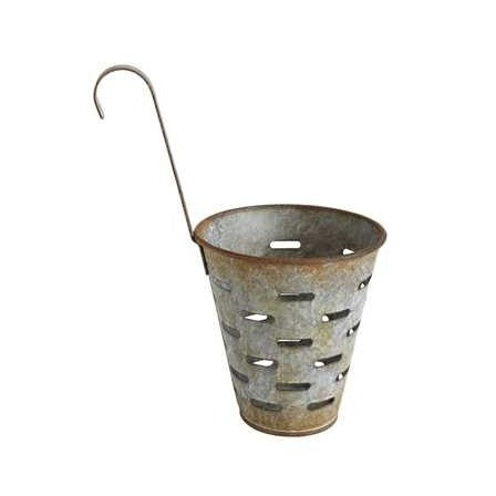 Set of Olive Buckets with Hook