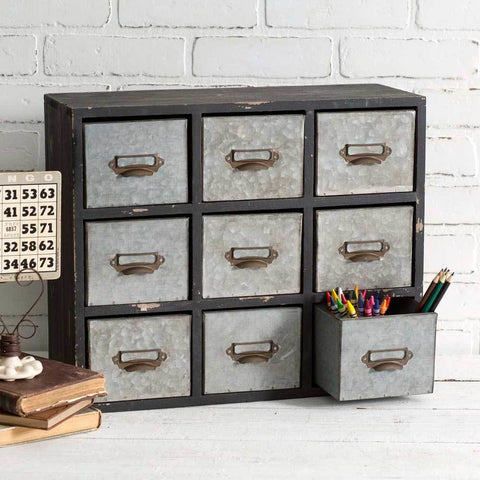 Vintage Style Table Top Organizer