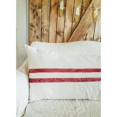 Grain Stripe Body Pillow