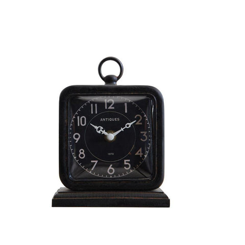 Small Black Vintage Style Clock