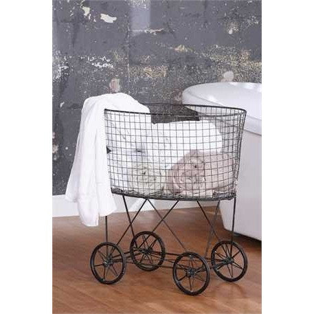 Metal Laundry Cart