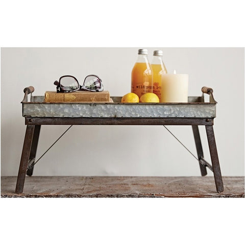 Industrial Farmhouse Tray Table