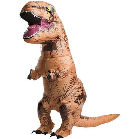 INFLATABLE Dinosaur T-REX Stag Mascot Costume