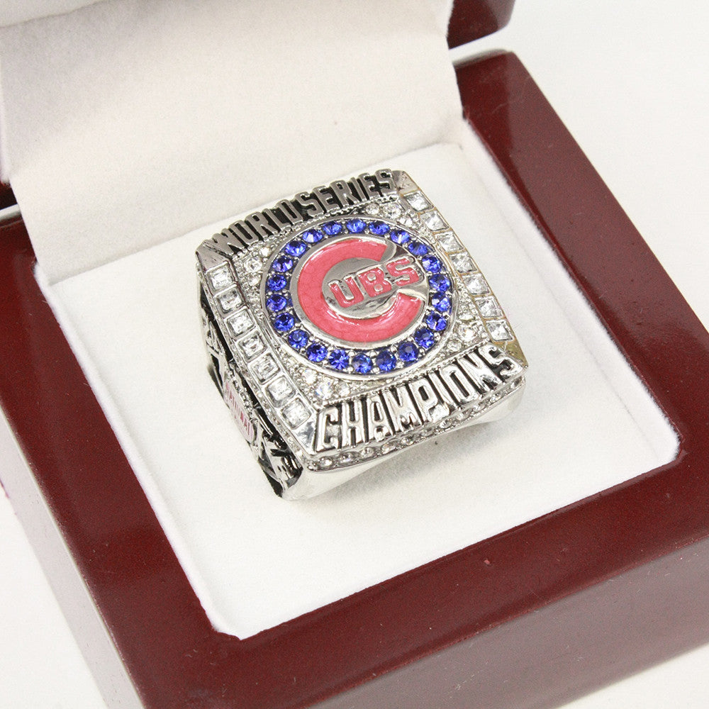 Chicago Cubs 2016 World Series Championship Ring With Box