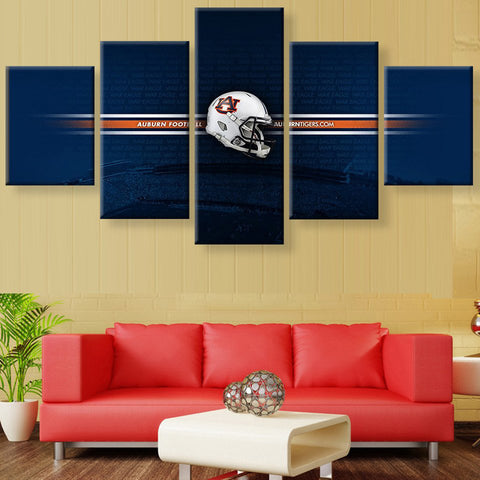 Auburn Tigers Athletic Canvas