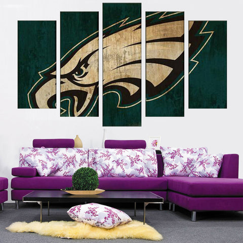 Philadelphia Eagles Logo Canvas