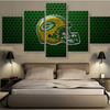 Green Bay Packers Helmet Canvas