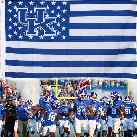 (50% OFF) Kentucky Wildcats Flag - FREE SHIPPING