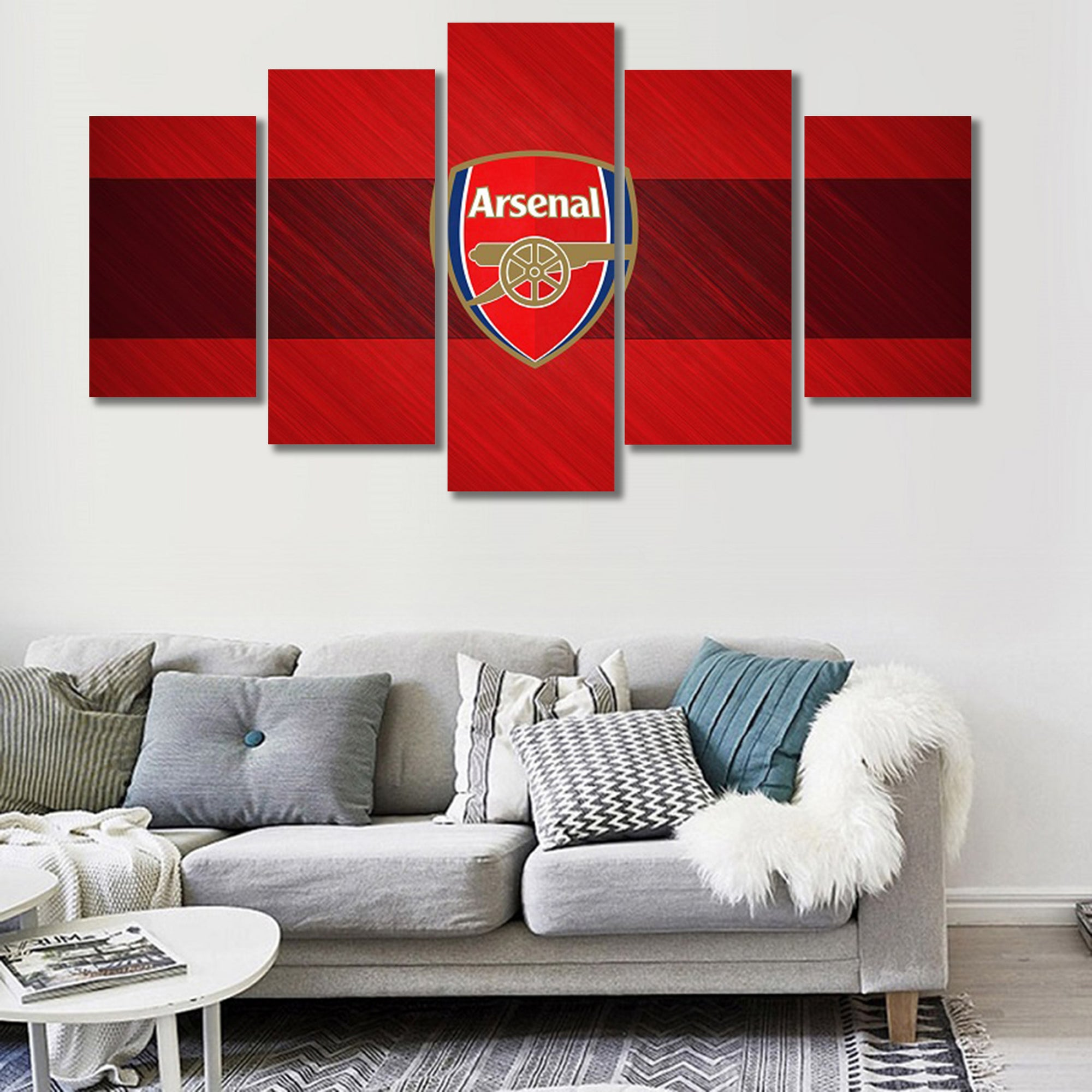 Arsenal Rugged Canvas