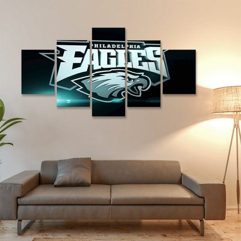 Philadelphia Eagles 3D Canvas Framed