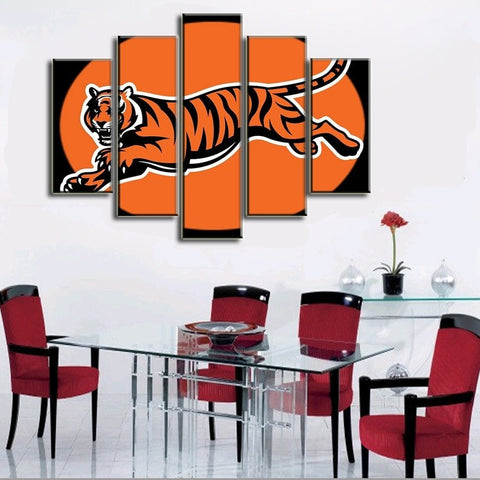 Cincinnati Bengals Running Canvas