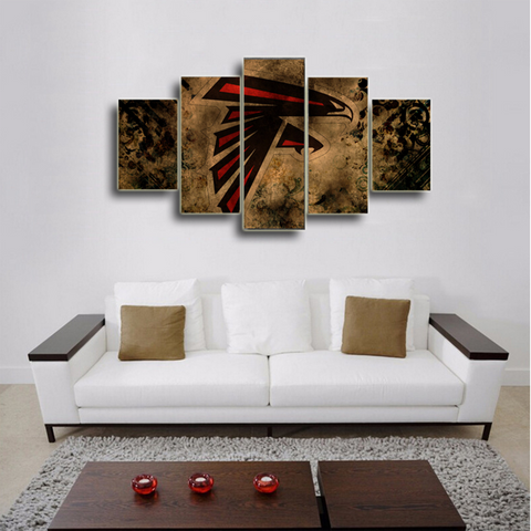 Atlanta Falcons Rugged Canvas