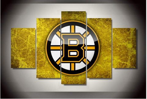 Boston Bruins NHL Canvas