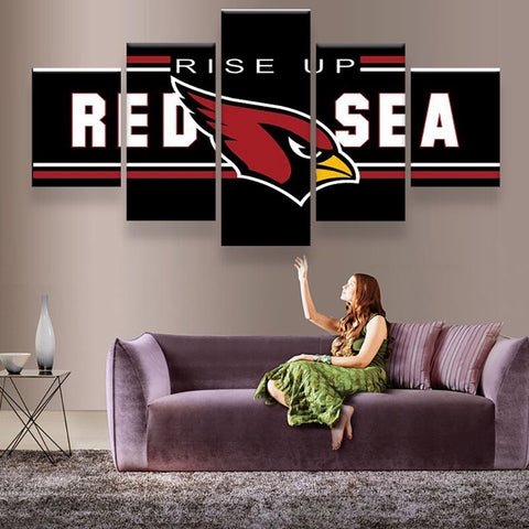 Arizona Cardinals Rise-Up Canvas