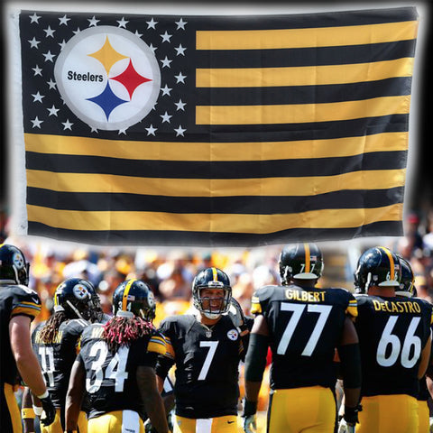 15fb2e45 Pittsburgh Steelers Flag