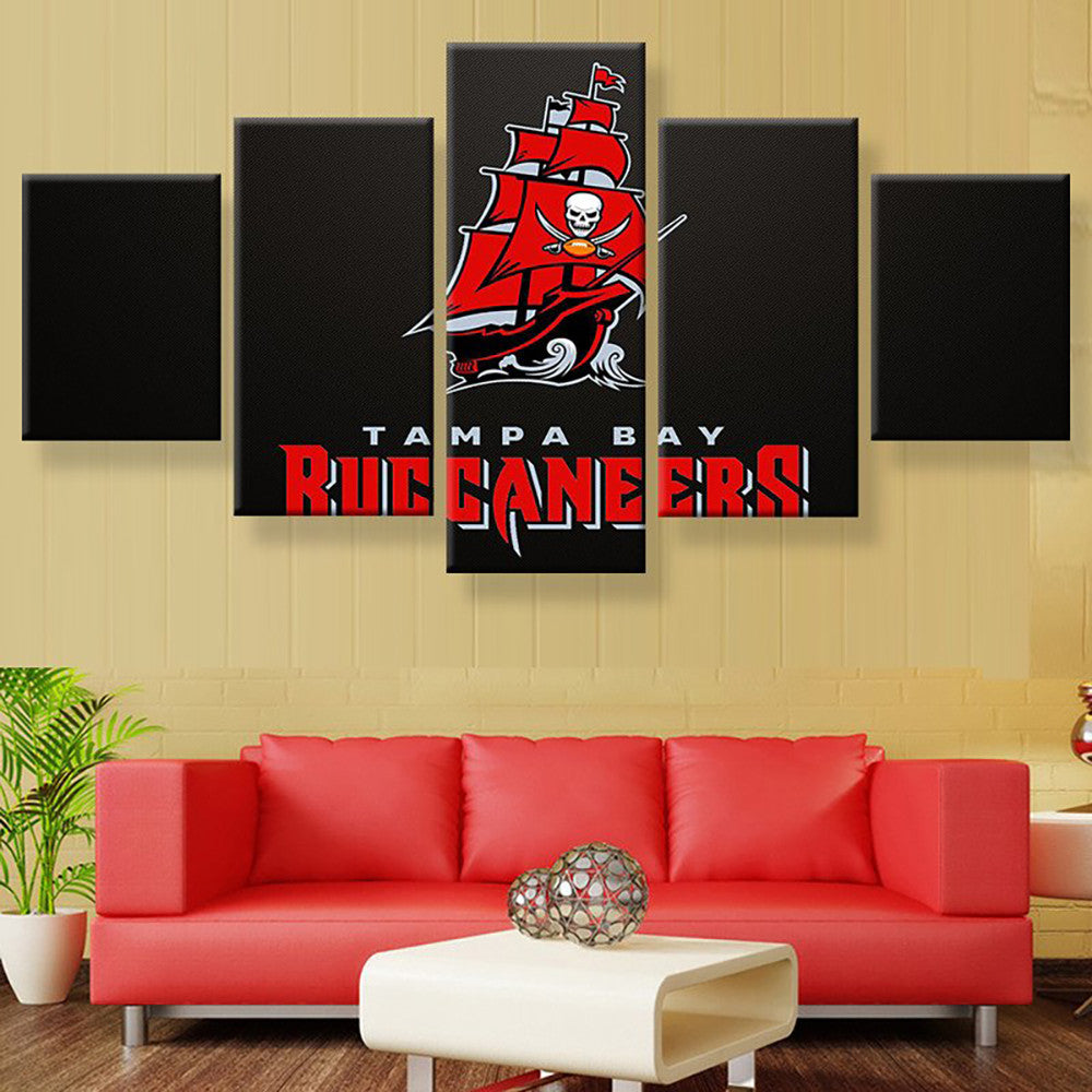 Tampa Bay Buccaneers Pirate Ship Canvas
