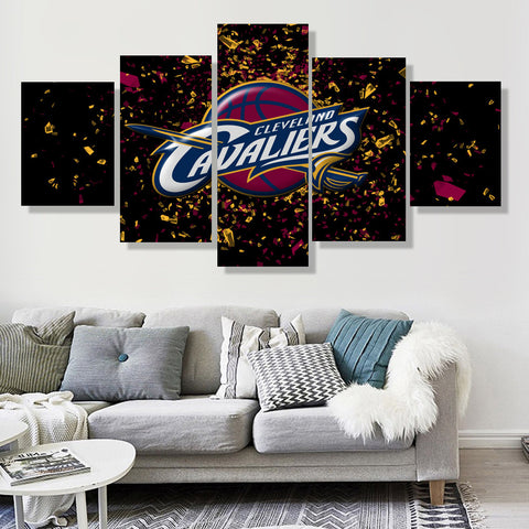 Cleveland Cavaliers Celebration Canvas