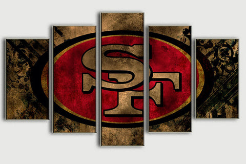 San Francisco 49ers Rugged Canvas