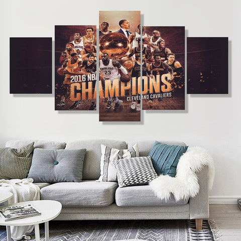 Cleveland Cavaliers Champions Canvas