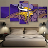 Minnesota Vikings Canvas Framed