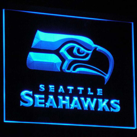 Seattle Seahawks Logo 3D Neon Sign